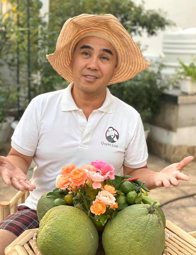 Vuon ngap tran hoa, trai cay cua gia dinh Quyen Linh hinh anh 3 90775464_2937758356320270_3669705368637800448_n.jpg