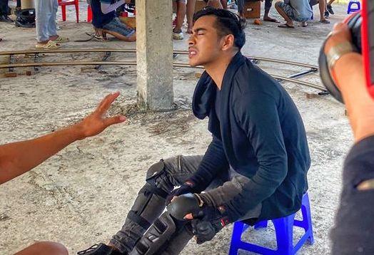 Thanh Binh bi chay mau mat anh 1