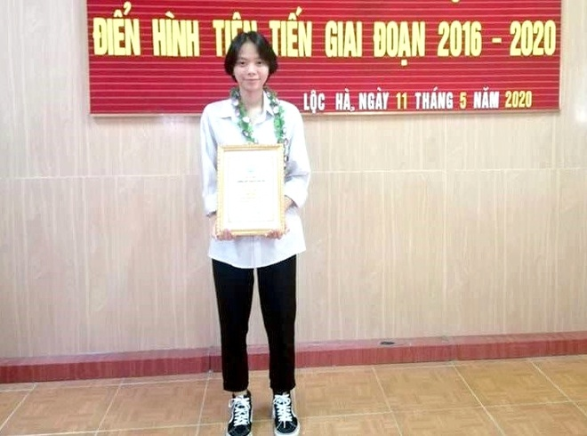 hoc sinh truong lang dat 8.0 IELTS anh 1