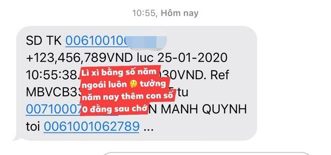 Minh Hang khoe tien mung Tet, Phan Manh Quynh li xi ban gai 123 trieu hinh anh 7 21_1.jpg