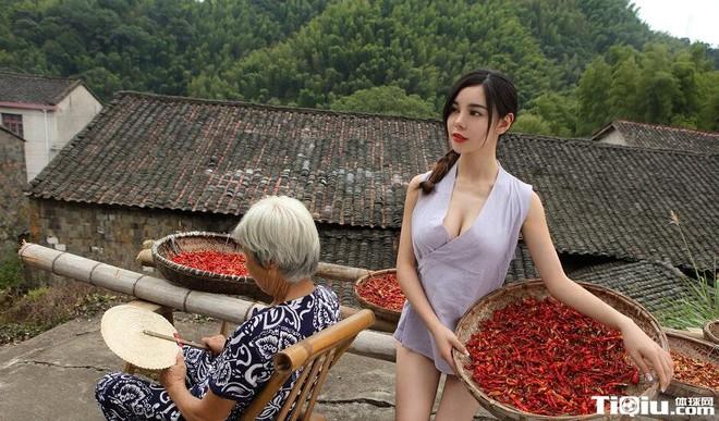 Nhung hot girl Trung Quoc bi tay chay vi anh phan cam hinh anh 4