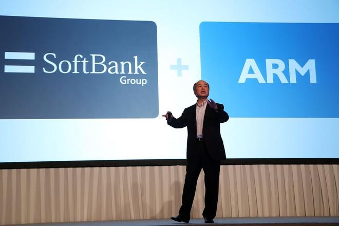 Softbank dang can nhac ban ARM anh 1