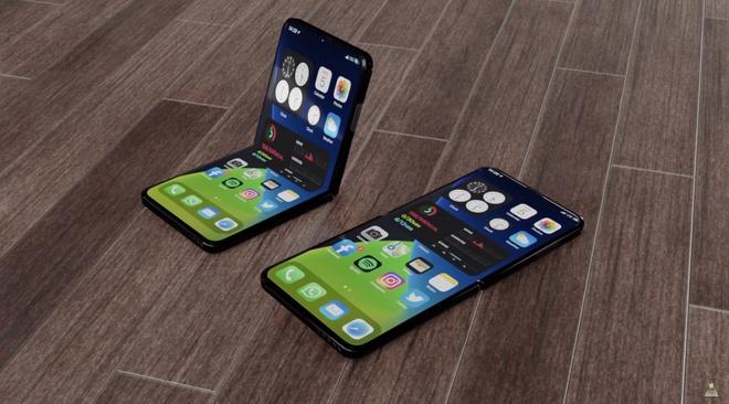 Thiet ke iPhone 12 Flip man hinh gap anh 1