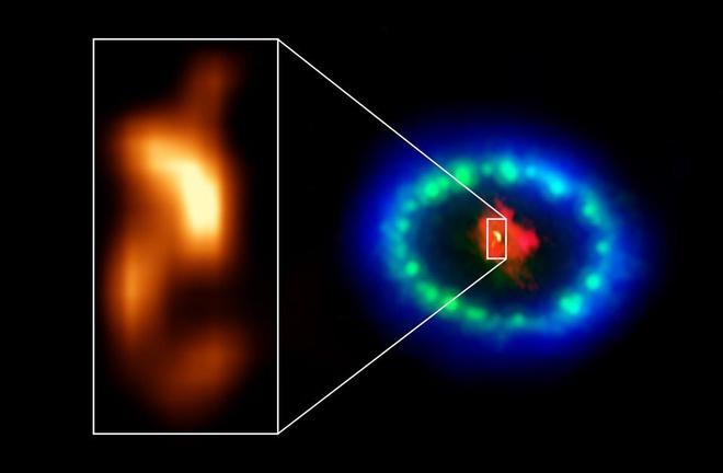 Ngoi sao neutron tre nhat sau sieu tan tinh SN 1987A anh 1