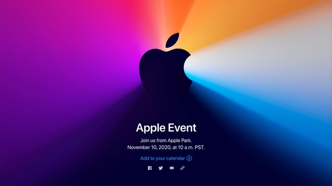 Apple to chuc su kien One more thing vao 10/11 anh 1