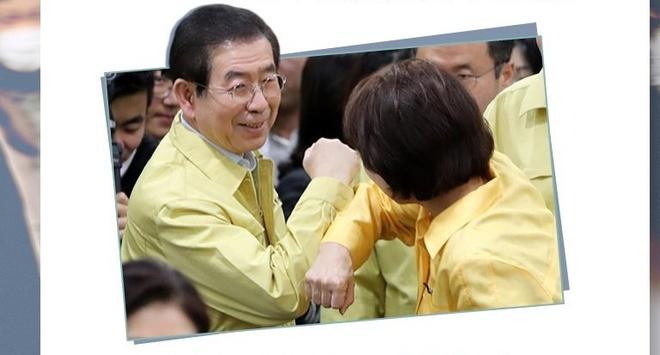 Chinh tri gia Han de xuat 'ban tim' thay bat tay de ngan virus corona hinh anh 2 31052622_156_2_.jpg
