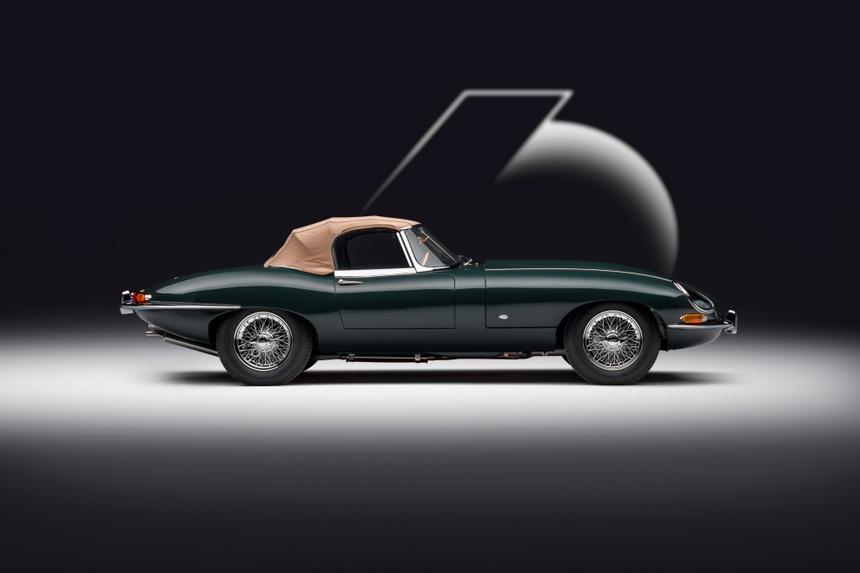 Xe co Jaguar E-Type anh 6