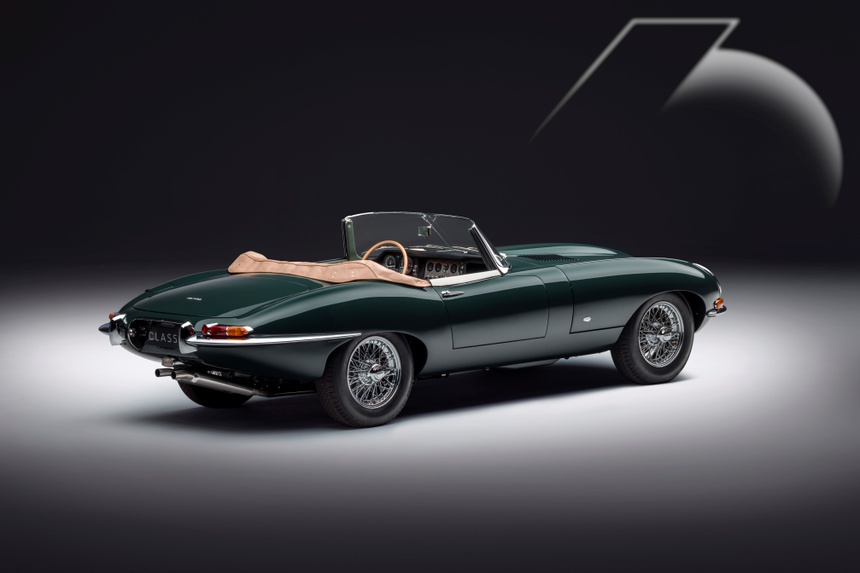 Xe co Jaguar E-Type anh 2
