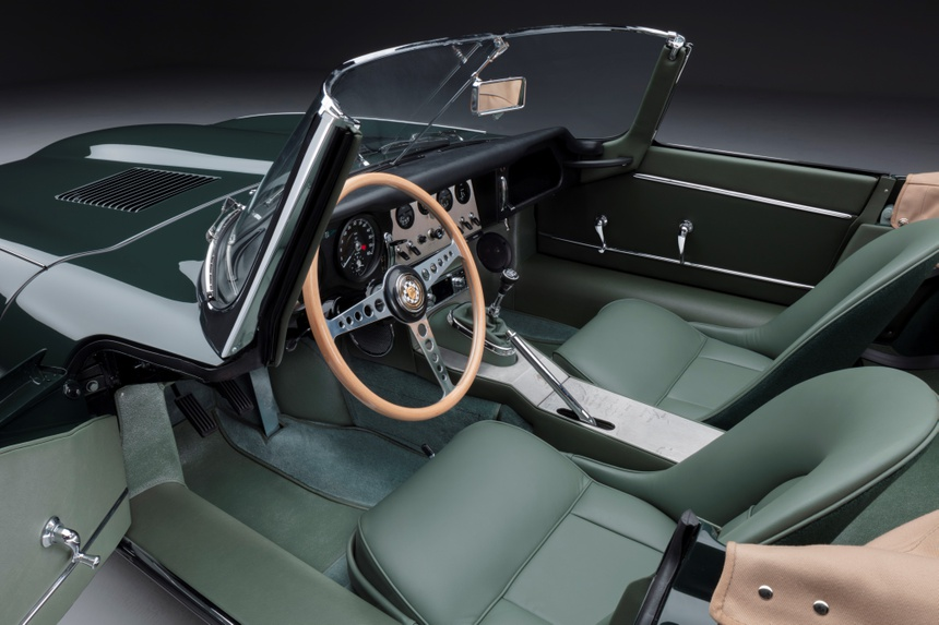 Xe co Jaguar E-Type anh 10