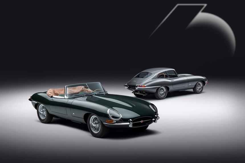 Xe co Jaguar E-Type anh 3