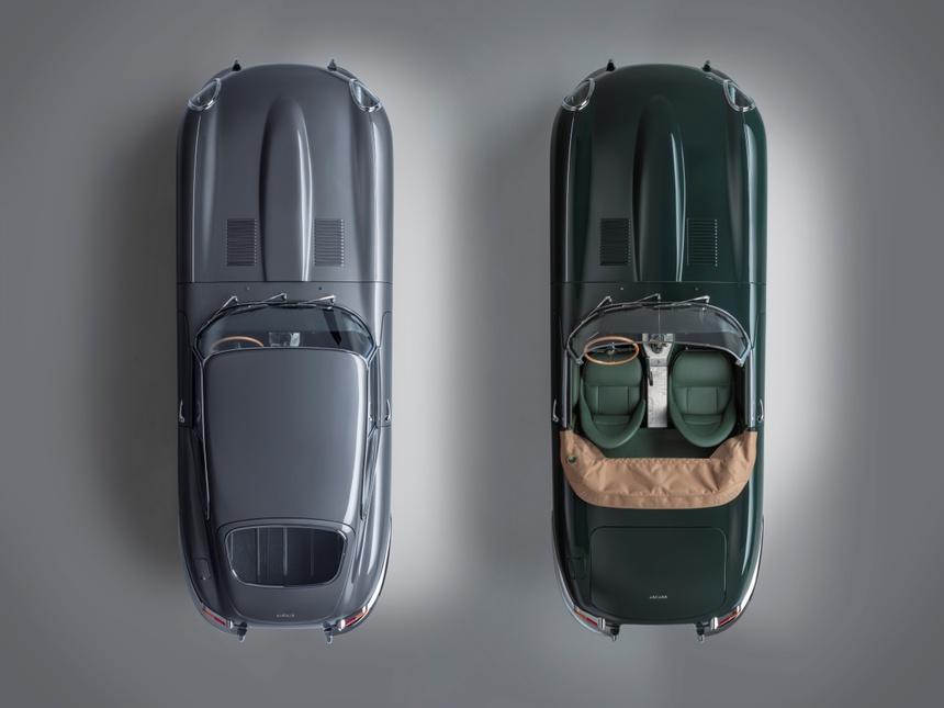 Xe co Jaguar E-Type anh 5