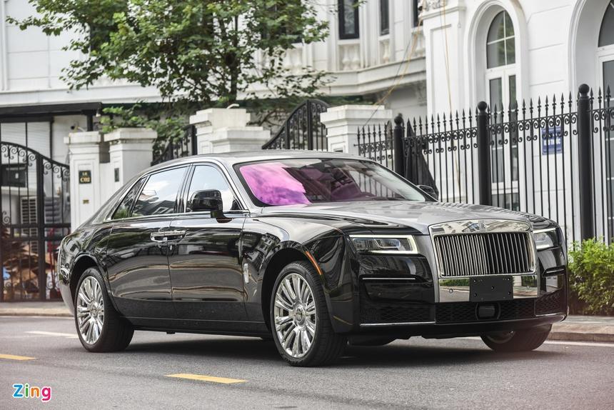 Rolls-Royce Ghost EWB 2021 anh 2