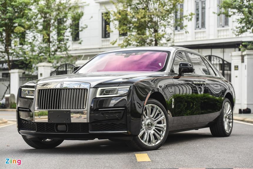 Rolls-Royce Ghost EWB 2021 anh 1