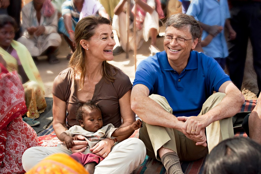 ty phu Bill Gates day con anh 4