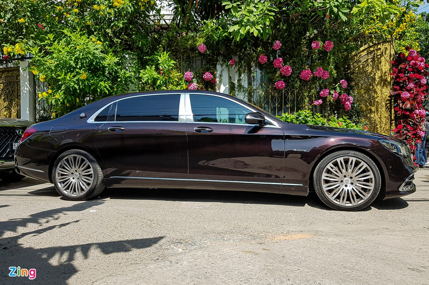 phan thanh, primmy truong, dam cuoi, rolls-royce, maybach, g63 anh 7