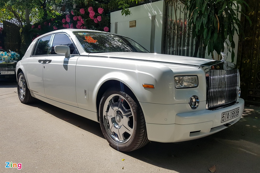 phan thanh, primmy truong, dam cuoi, rolls-royce, maybach, g63 anh 3
