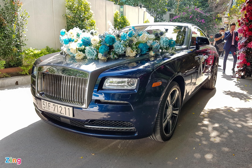 phan thanh, primmy truong, dam cuoi, rolls-royce, maybach, g63 anh 2
