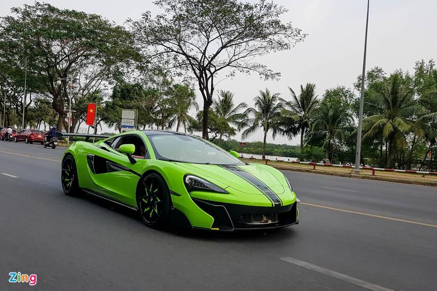 McLaren 570S voi goi do Vorsteiner hang doc tai Viet Nam anh 1