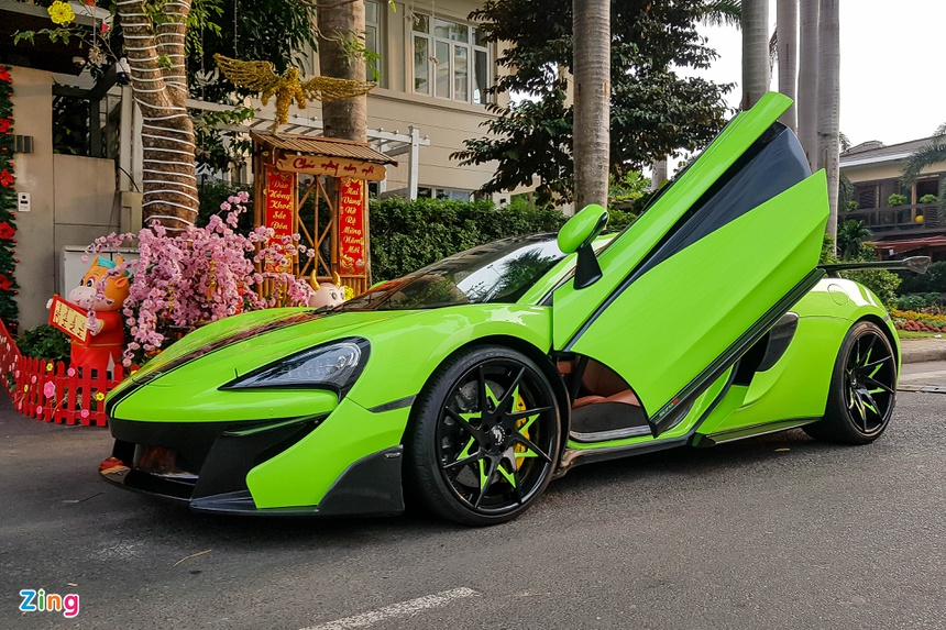 McLaren 570S voi goi do Vorsteiner hang doc tai Viet Nam anh 2