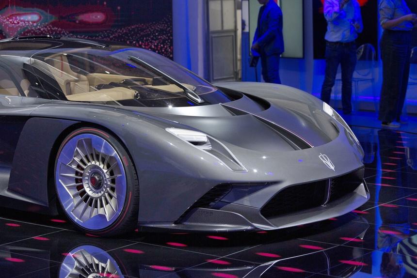 hongqi s9, s9, hongqi, sieu xe, milan design week 2021, milan, tuan le thiet ke Milan, milan design week anh 3