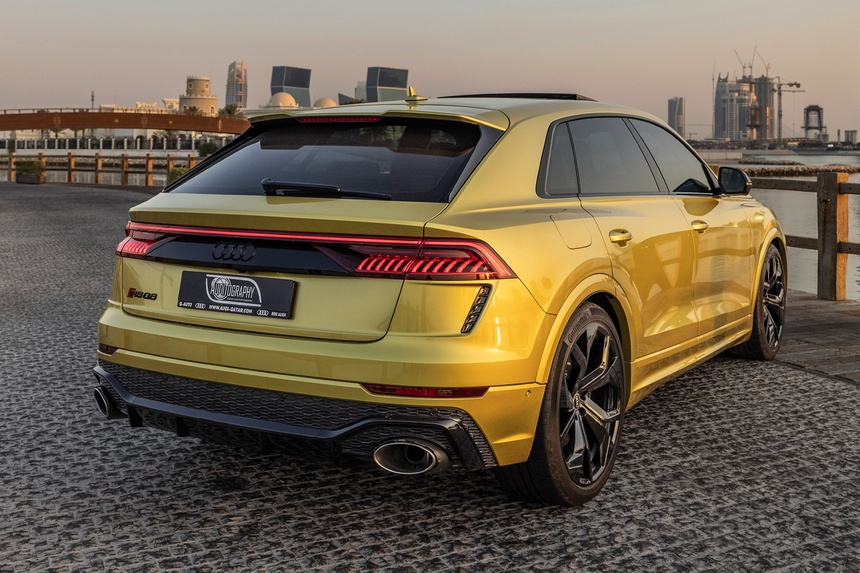 Audi RS Q8 phien ban doc nhat the gioi anh 2