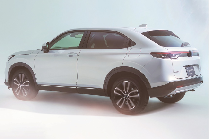 Honda HR-V 2021 duoc ra mat anh 2