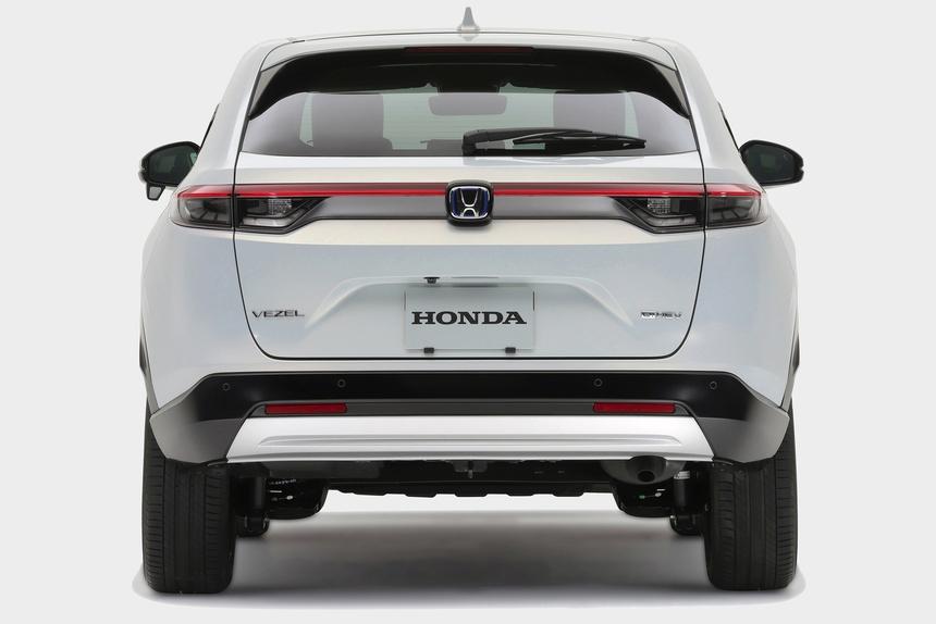 Honda HR-V 2021 duoc ra mat anh 4