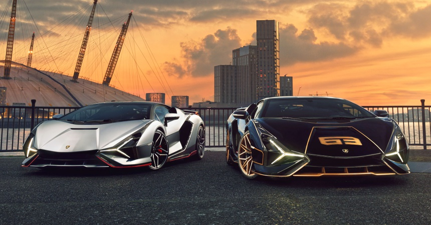 Lamborghini Sian ra mat anh 1