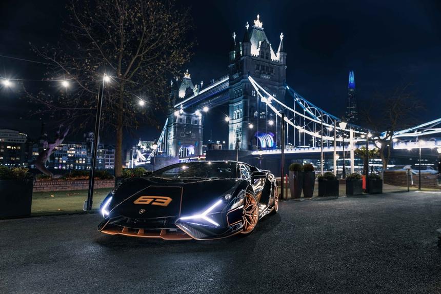 Lamborghini Sian ra mat anh 4