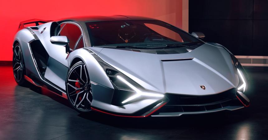 Lamborghini Sian ra mat anh 3