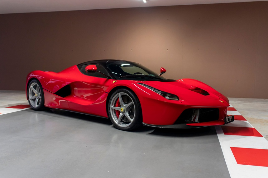 Sebastian Vettel rao ban dan sieu xe 10 trieu USD sau khi roi Ferrari anh 3