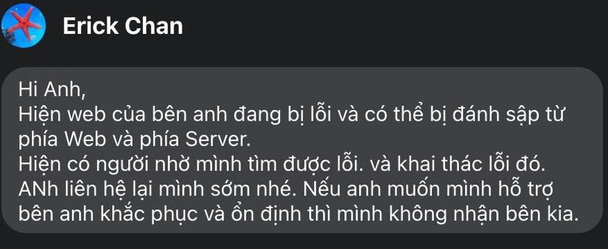 hacker tan cong website Viet Nam anh 1