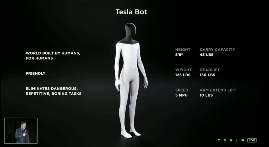 Tesla Bot anh 1