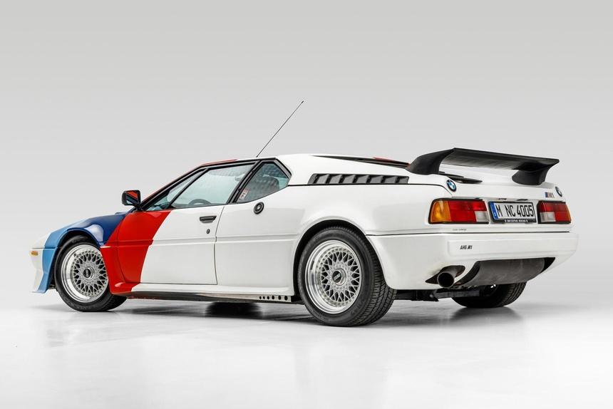 BMW M1 cua Paul Walker duoc ban gia 500.000 USD anh 3