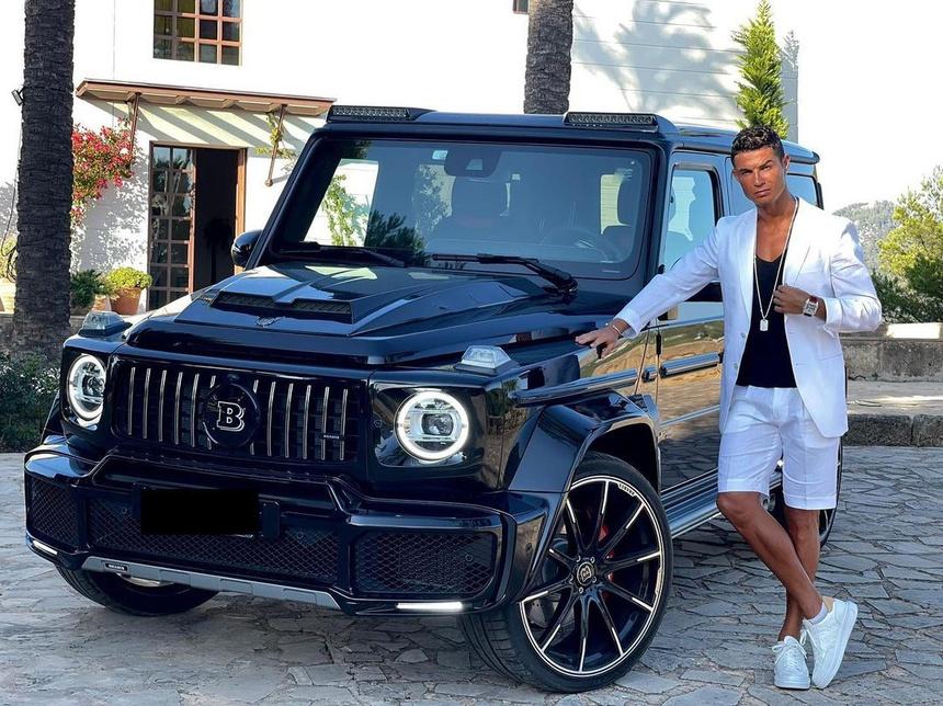 Ronaldo co the mua sieu xe gi voi muc luong tai MU? anh 1