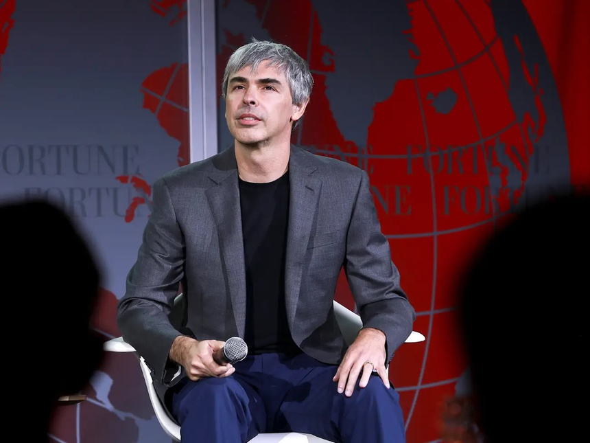 cuoc song bi an cua Larry Page anh 1