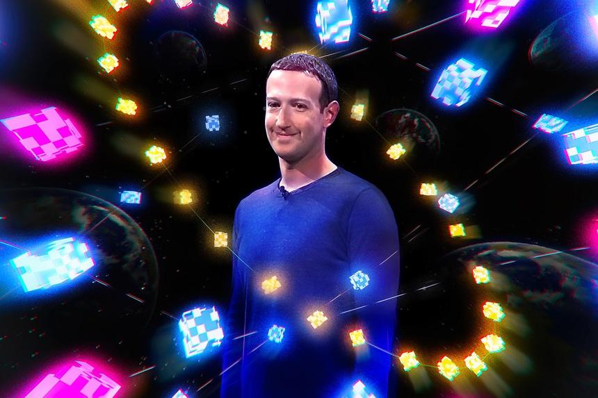 Mark Zuckerberg muon tao ra vu tru ao anh 1