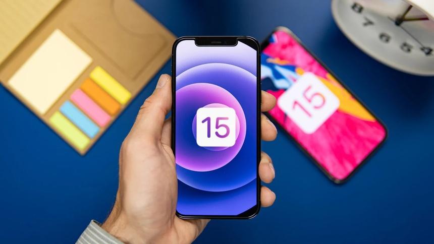cap nhat iOS 15 cho iPhone anh 1