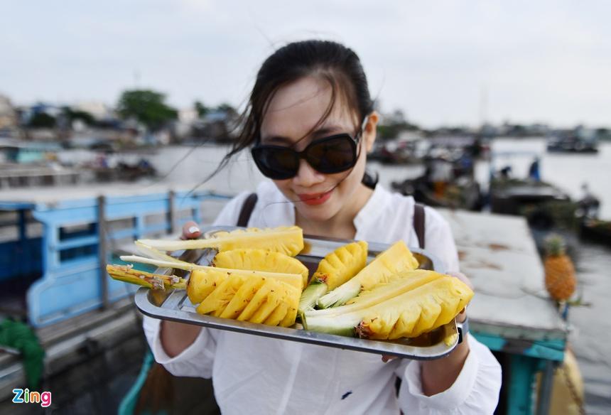 Cho noi Cai Rang hut khach tham quan anh 10