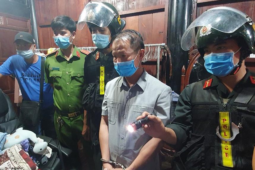 Bat trum xa hoi den Nguyen Chu Dam anh 2