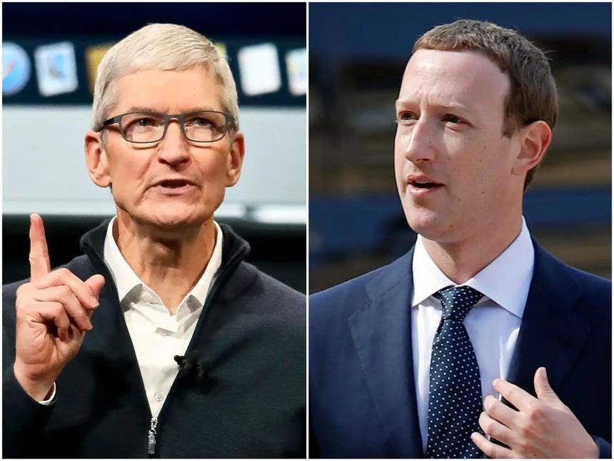 Cuoc 'khau chien' khong hoi ket giua Tim Cook va Mark Zuckerberg anh 1