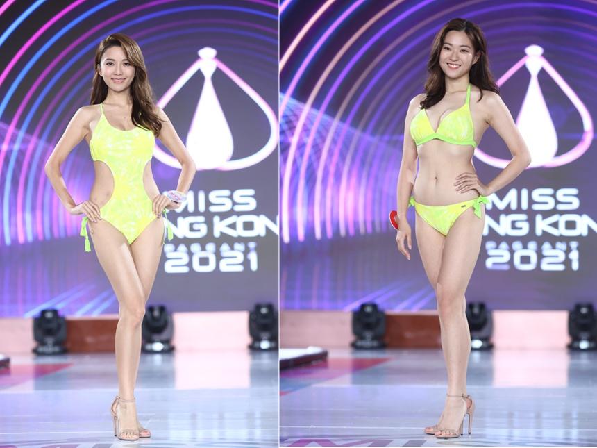 Top 24 Hoa hau Hong Kong dien bikini anh 8