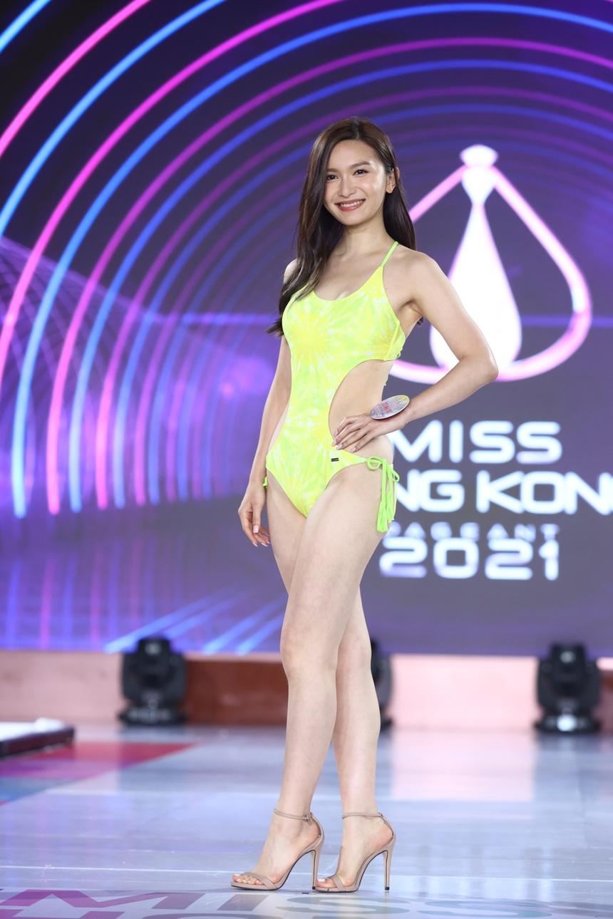 Top 24 Hoa hau Hong Kong dien bikini anh 4
