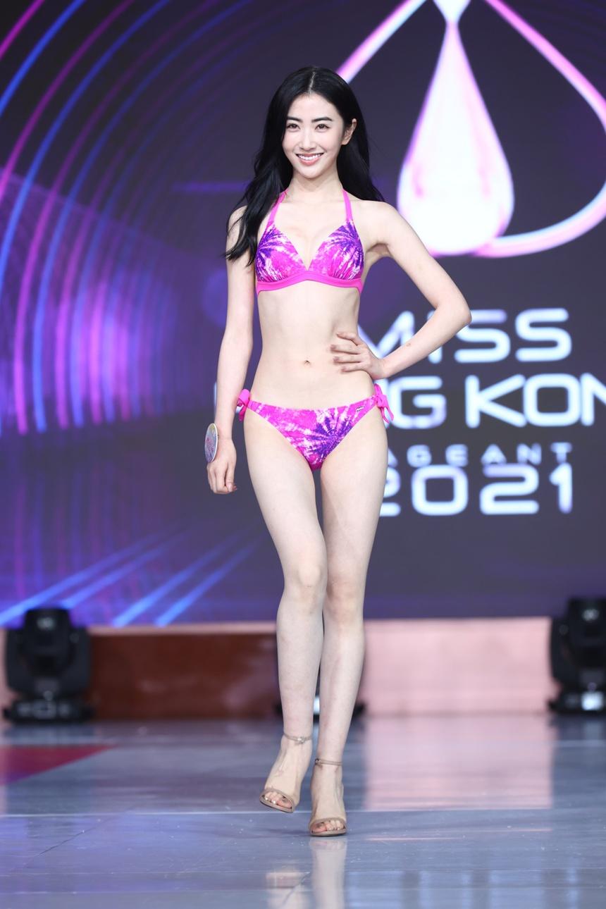 Top 24 Hoa hau Hong Kong dien bikini anh 7
