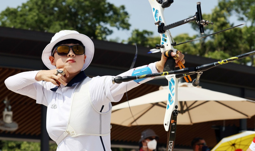 cong nghe mon ban cung olympic anh 1