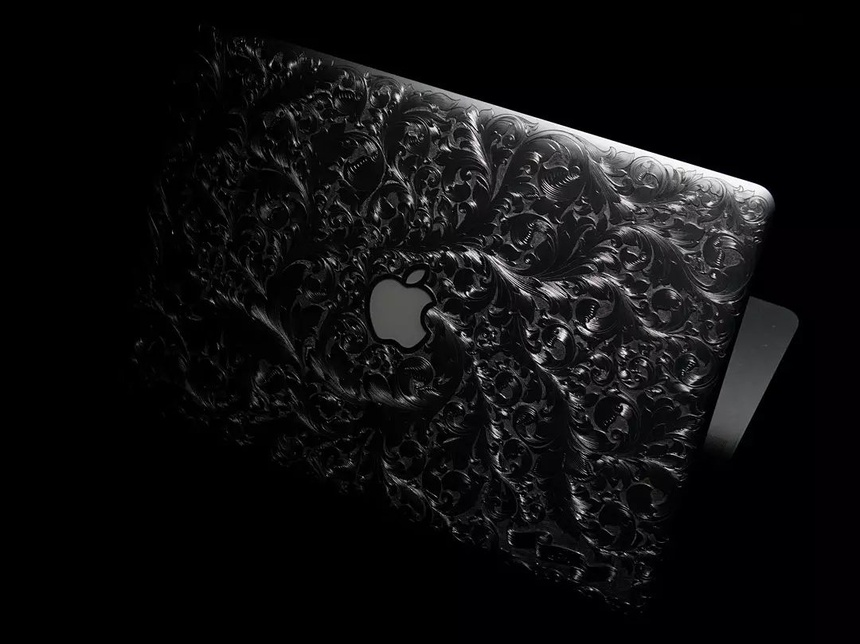 Nguoi Viet dieu khac MacBook bang tay anh 6