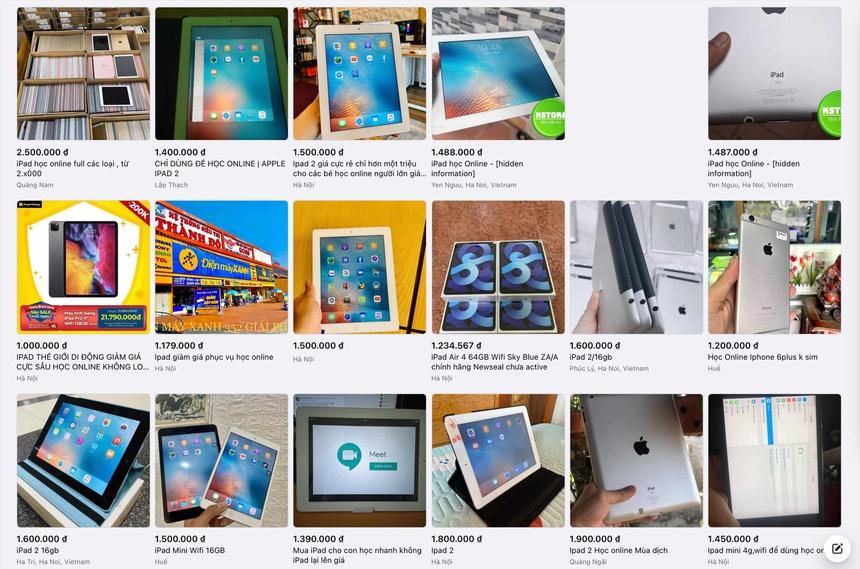 Nhung loai iPad khong nen mua de hoc online anh 1