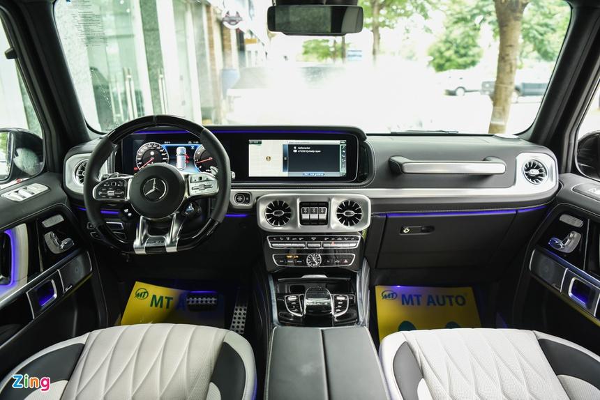 chi tiet Mercedes-AMG G 63 mau doc anh 8