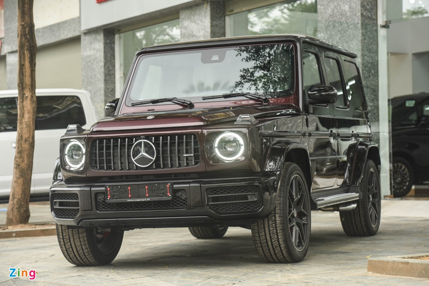 chi tiet Mercedes-AMG G 63 mau doc anh 17