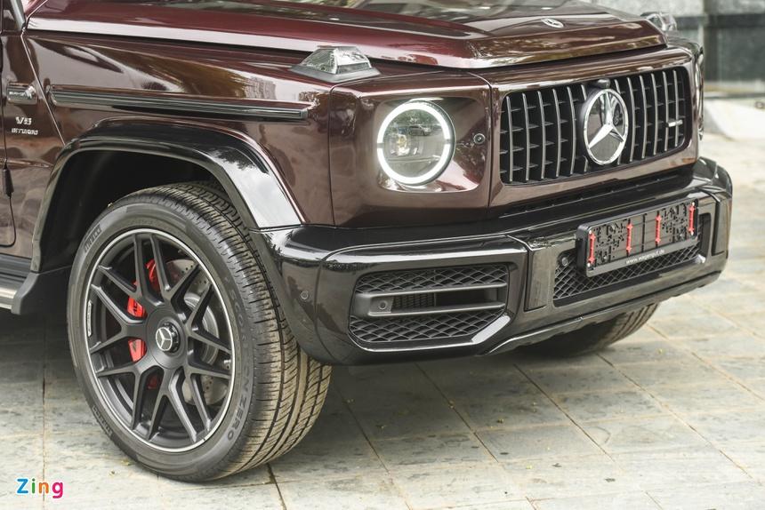 chi tiet Mercedes-AMG G 63 mau doc anh 5
